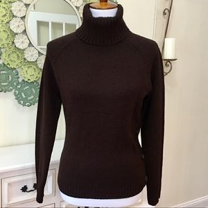 The Limited Brown Turtleneck Sweater - Z